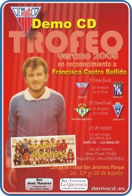Trofeo de verano CD Demo: En homenaje a Fco. Castro Bellido